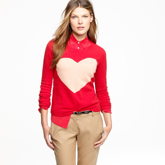Heart me sweater