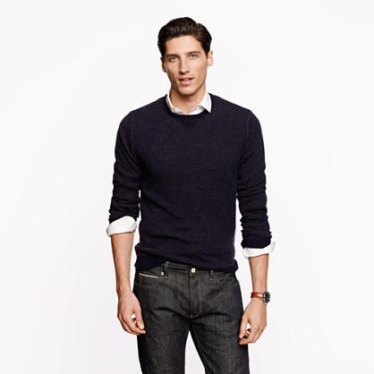Cashmere plaited sweatshirt