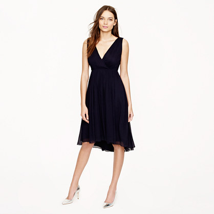 Frances dress in silk chiffon