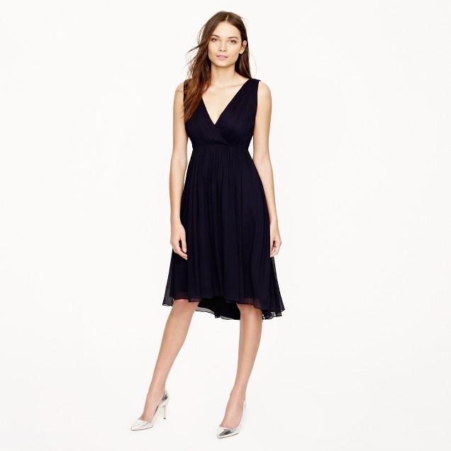 Frances dress in silk chiffon