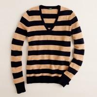 Dream V-neck sweater in stripe