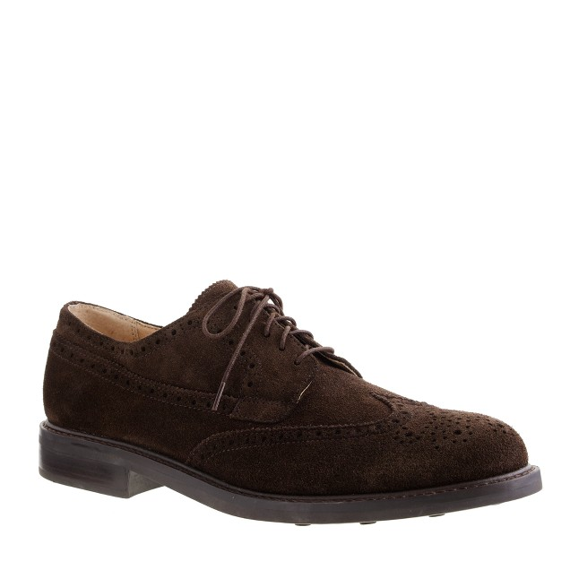 Allerton suede wing tips