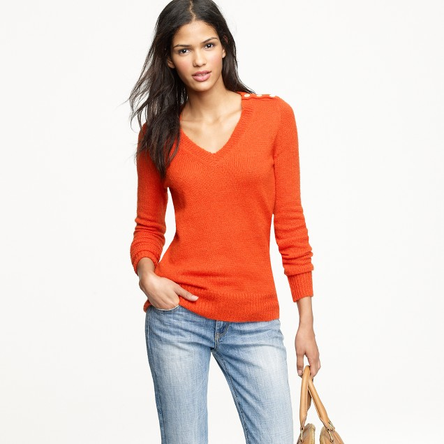 Wynter V-neck sweater