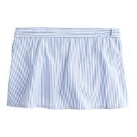 Seersucker bikini beach skirt