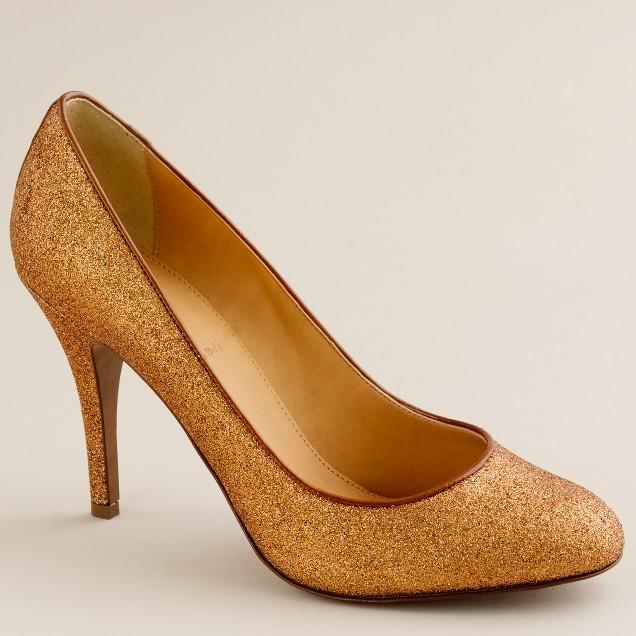 Mona glitter pumps