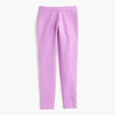 Girls' cozy everyday leggings