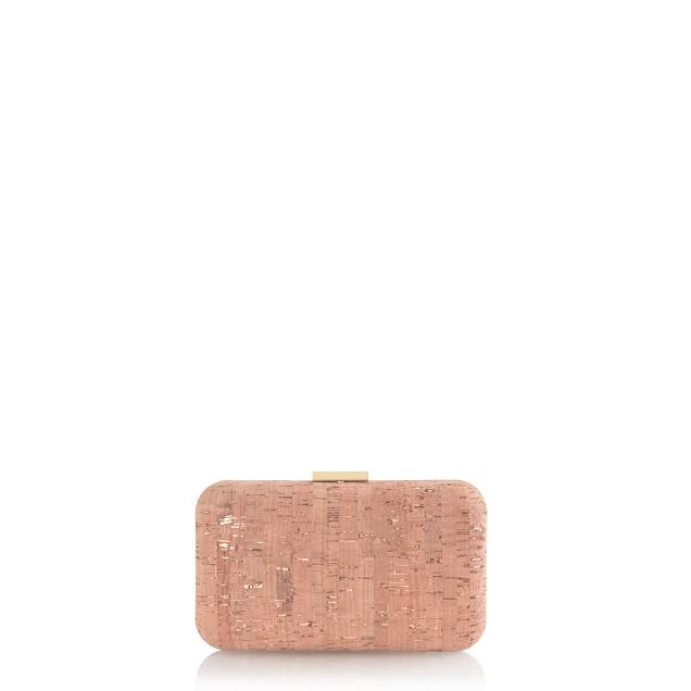 Gold foil cork minaudière