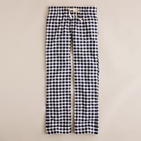 Flannel pajama pant in gingham