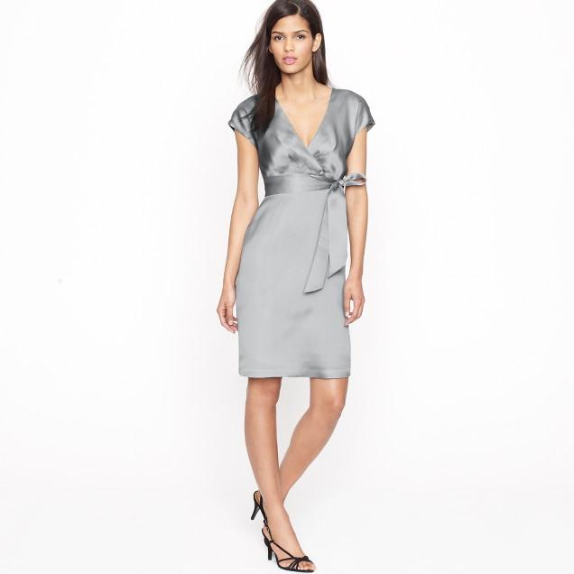 Melanie dress in silk organza