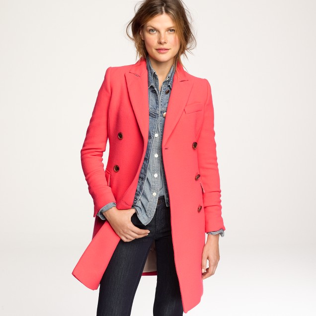 Double-cloth Chesapeake coat
