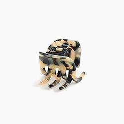 Medium tortoise claw hair clip