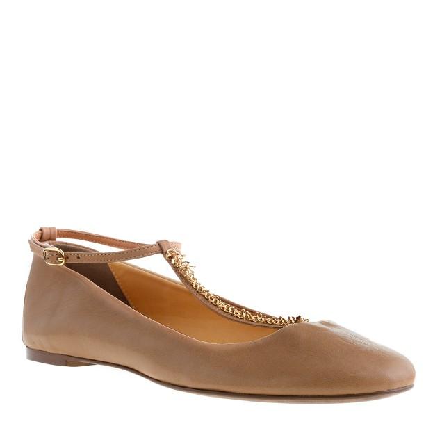 Jayne T-strap ballet flats
