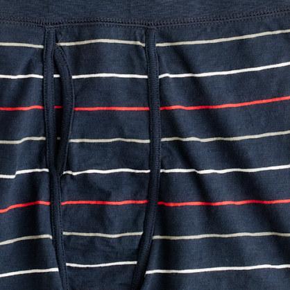 Bayou-stripe jersey boxer briefs