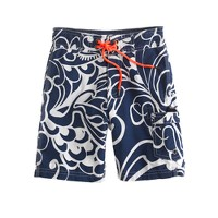 Boys' board shorts in Molokini floral
