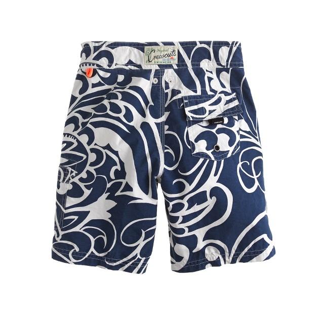 Boys' board shorts in Molokini floral