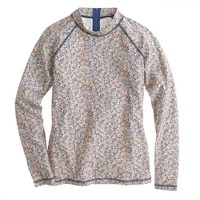 Liberty rash guard in Amy Hurrel floral