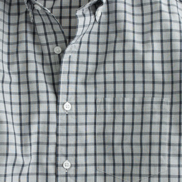 Slim Secret Wash shirt in classic check