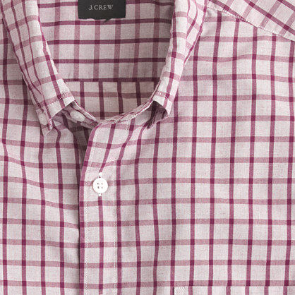 Secret Wash shirt in classic check