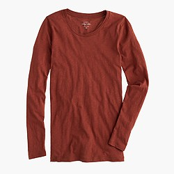 Vintage cotton long-sleeve T-shirt