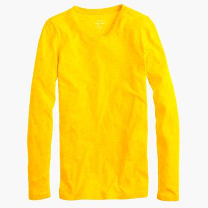 Vintage cotton long-sleeve T-shirt