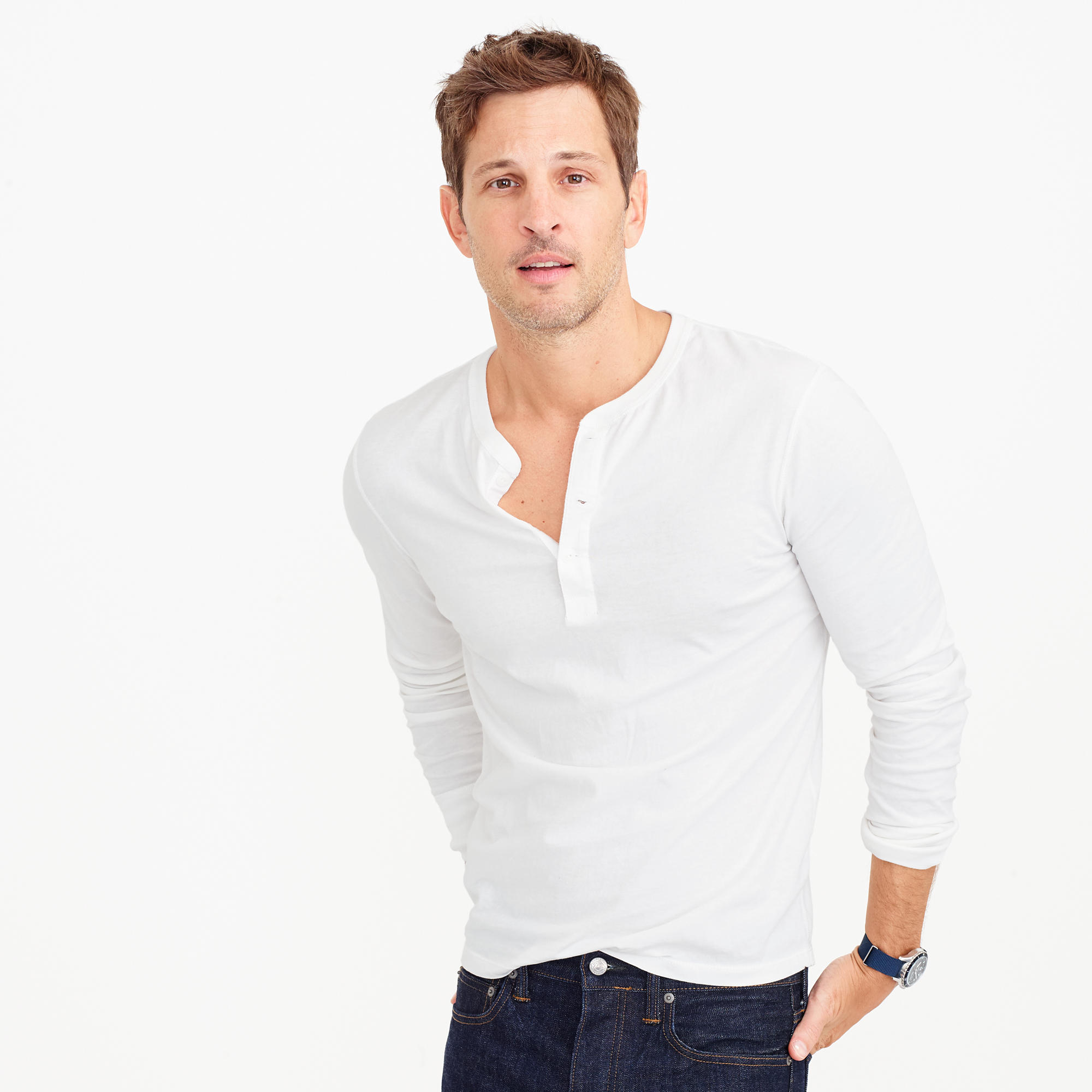 Broken-In Long-Sleeve T-Shirt : Men's Tees | J.Crew