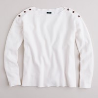 Bateau button sweater