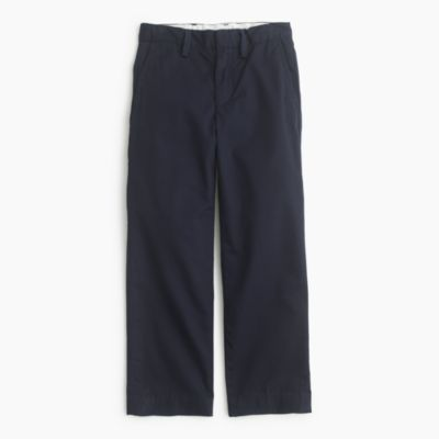 Boys' lightweight chino pant in straight fit