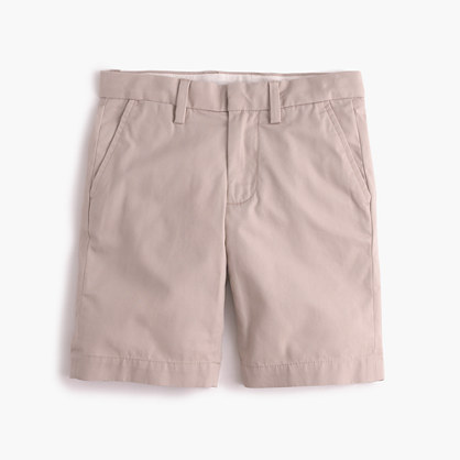 Boys' club short in lightweight chino