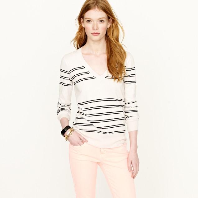 Double-stripe sweater