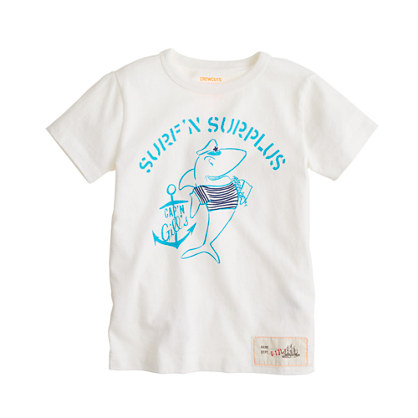 Boys' surf 'n surplus tee