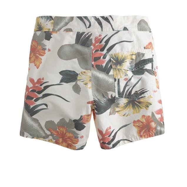 Lightning Bolt® floral pelican swim trunks