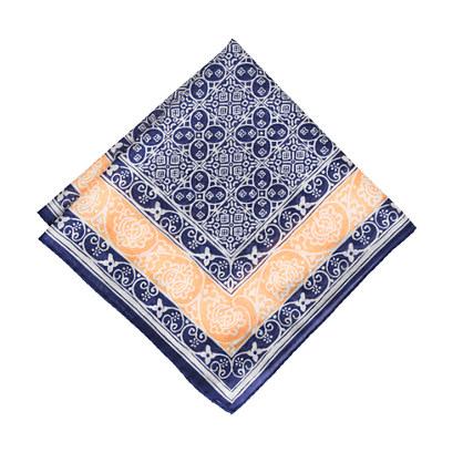 Drake's&reg; batik tile handkerchief<BulletPoint></BulletPoint>