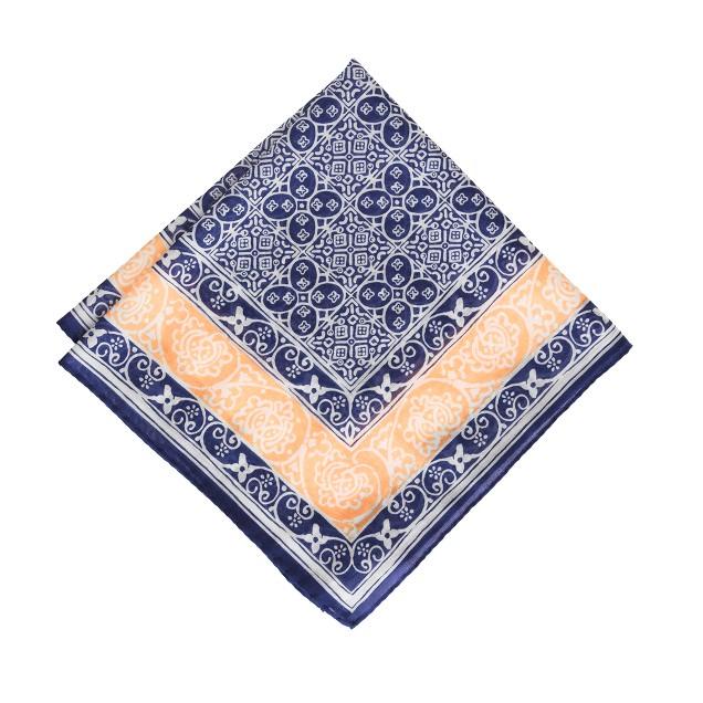 Drake's® batik tile handkerchief<BulletPoint></BulletPoint>