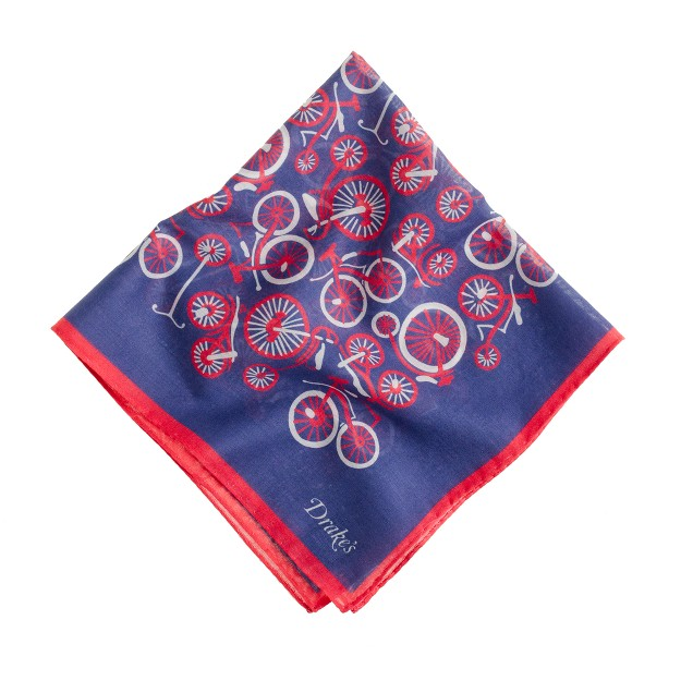 Drake's® vintage bicycle handkerchief<BulletPoint></BulletPoint>