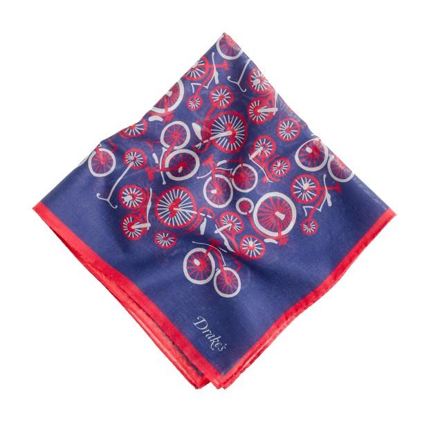 Drake's® vintage bicycle handkerchief<BulletPoint></BulletPoint>
