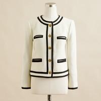 Fanfare jacket in felted wool