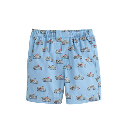 Boys' printed cotton boxers