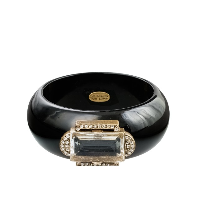 Lulu Frost for J.Crew wide Deco bangle