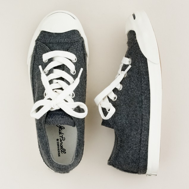 Kids' Converse® Jack Purcell® sneakers in flannel