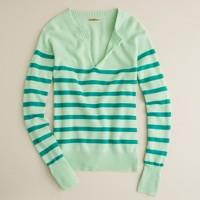 Cashmere candy-stripe sweater