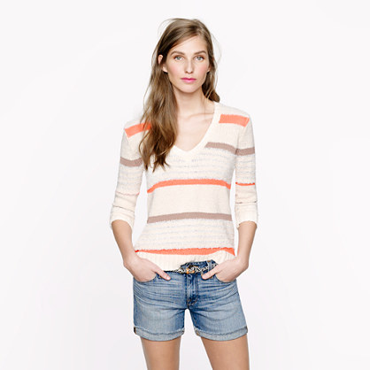Collection texture-stripe sweater