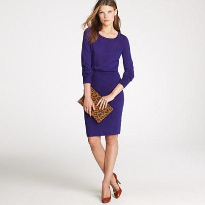 Wool sweater-dress