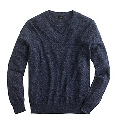 Rugged cotton sweatshirt sweater