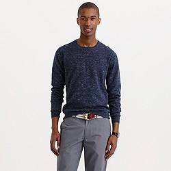 Rugged cotton sweatshirt sweater