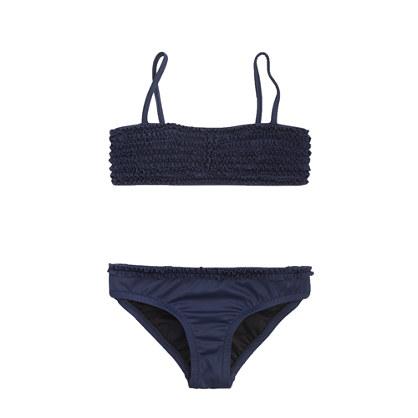 Girls' tiny frills bikini set