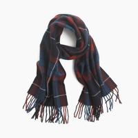 Mosaic wool scarf