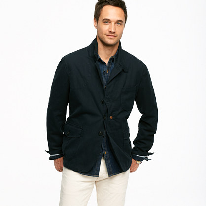 Woolrich John Rich & Bros.™ indigo canvas Upland jacket