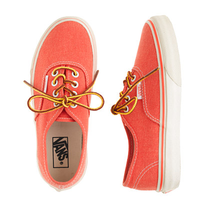 Boys' Vans® for crewcuts washed sneakers