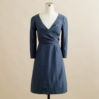 Lilabeth dress in silk taffeta