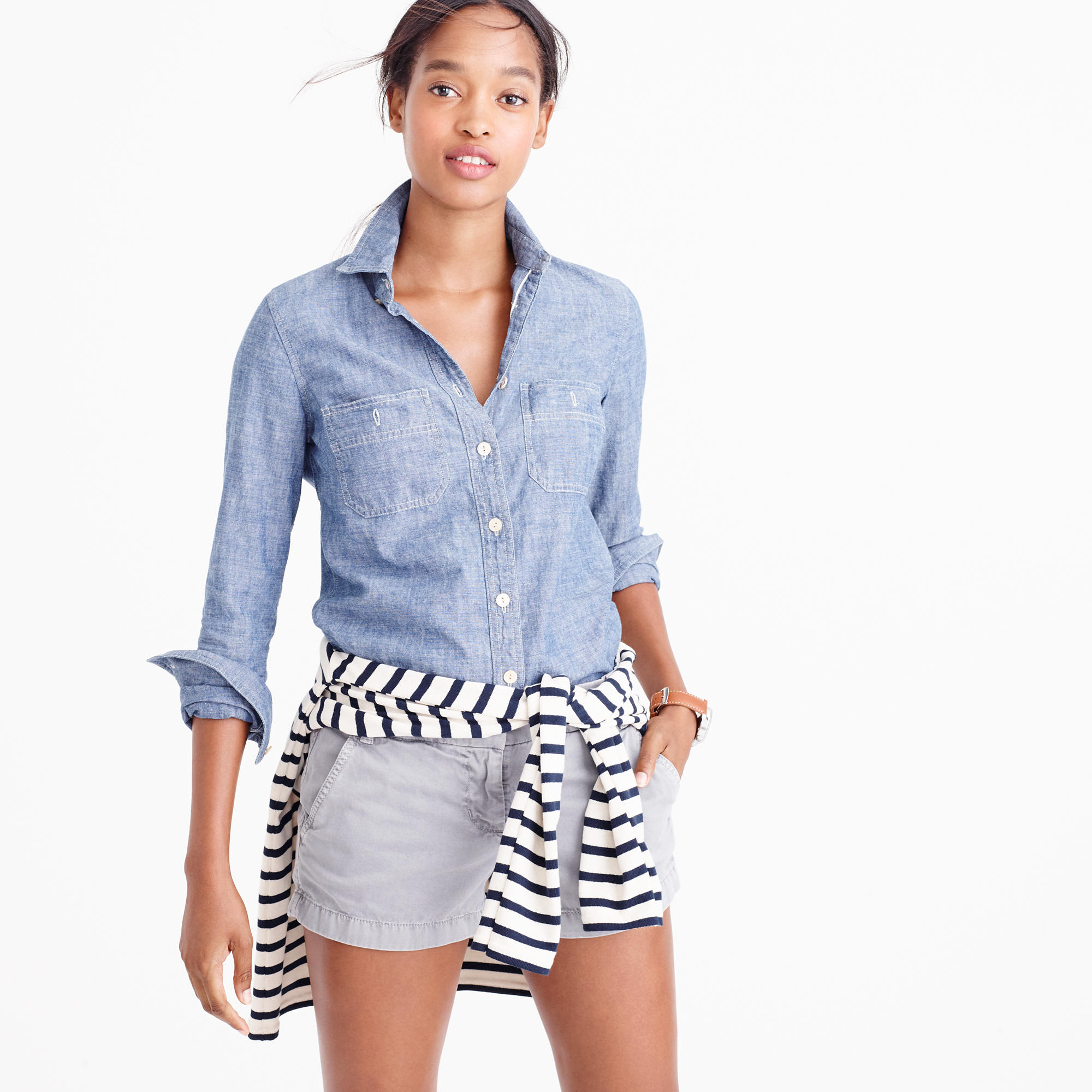 3&quot Chino Short : Women&39s Shorts  J.Crew